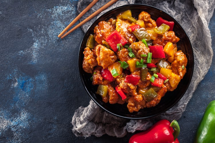poulet-sauce-chinoise