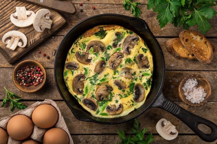 recette-omelette-champignons