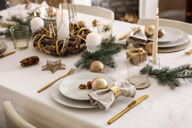 Repas de Noël gastronomique