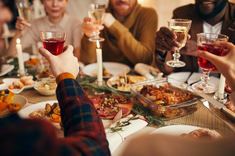 Repas de Noël simple