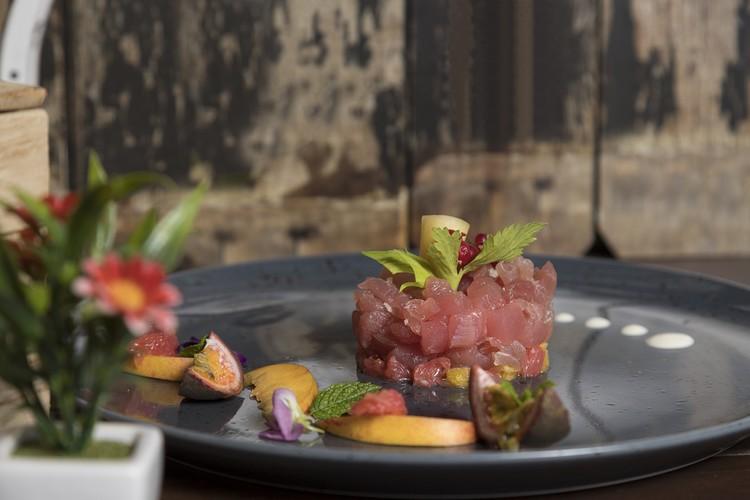 Tartate saumon et fruit de la passion