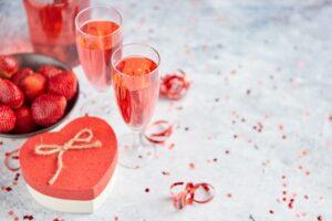 Cocktail de Saint-Valentin
